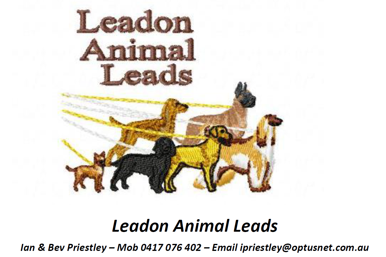 sponsor logo: Leadon Animal Leads & Accessories